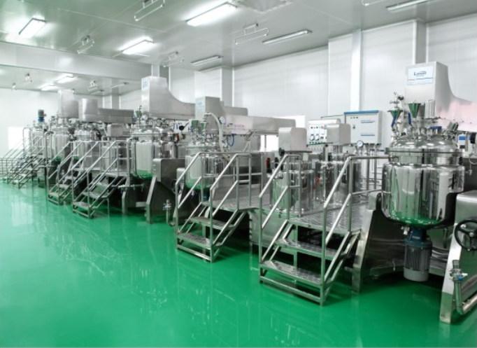 Hydraulic Vacuum Emulsifier Cosmetic Cream Ointment Making