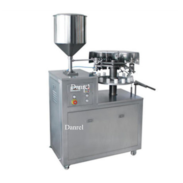 New Condition Semi Automatic Metal Tube Filling And Folding Closing Machine Made in China