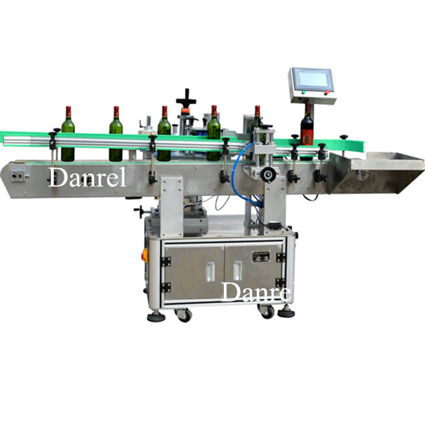Automatic Red Wine Round Bottle Labeling Machine