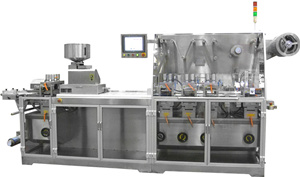 DPB-270J Flat Plate Type Automatic Capusules Blister Packing Machine PVC Tablets Pills
